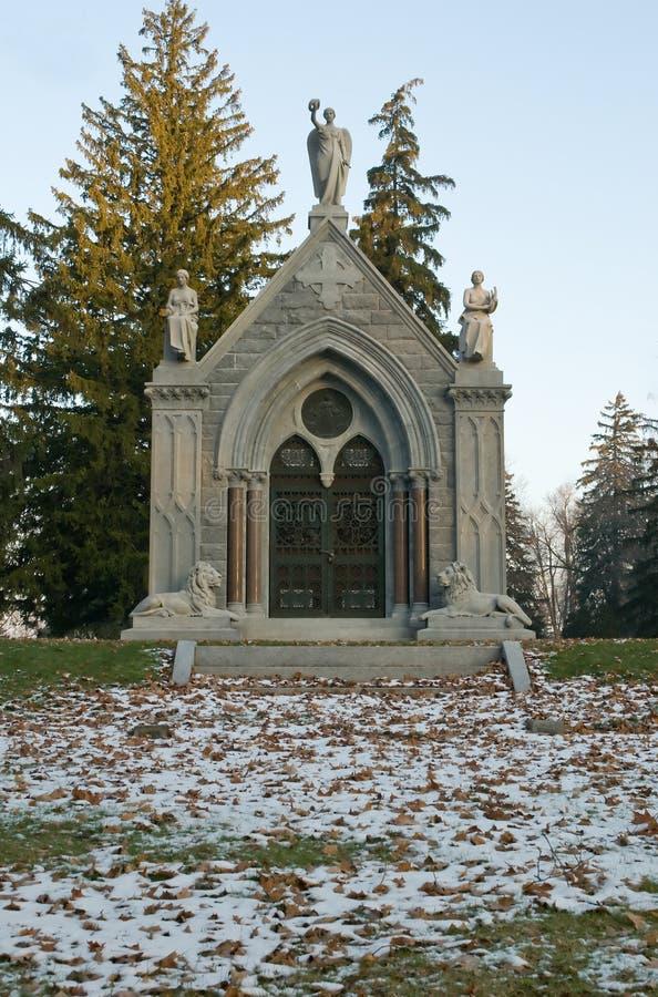 Mausoleum royalty-vrije stock foto