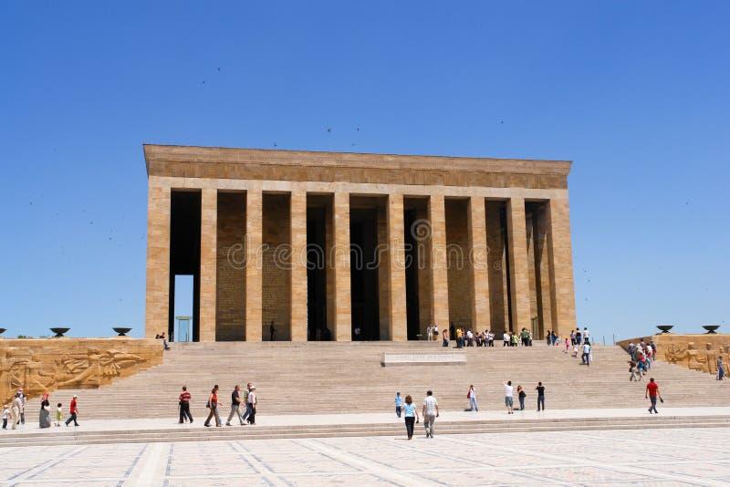 Mausoleum of Ataturk in Ankara Turkey stock photos