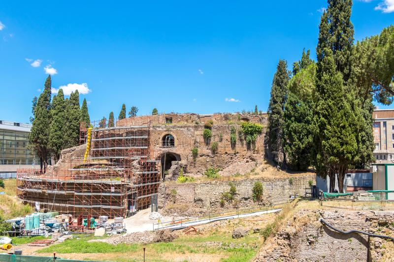 The Mausoleum of Augustus royalty free stock image