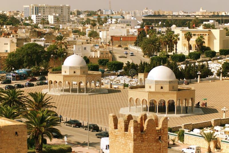 Mausoleum av Habib Bourgiba fotografering för bildbyråer
