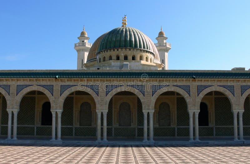 Mausoleum av Habib Bourgiba arkivfoto