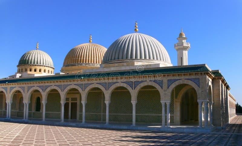 Mausoleum av Habib Bourgiba arkivbilder
