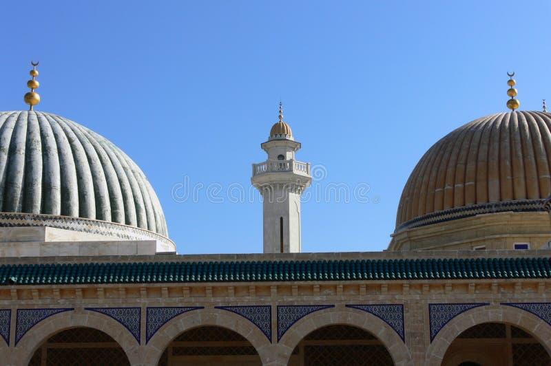 Mausoleum av Habib Bourgiba royaltyfri foto