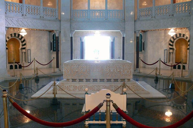 Mausoleum av Habib Bourgiba arkivbild