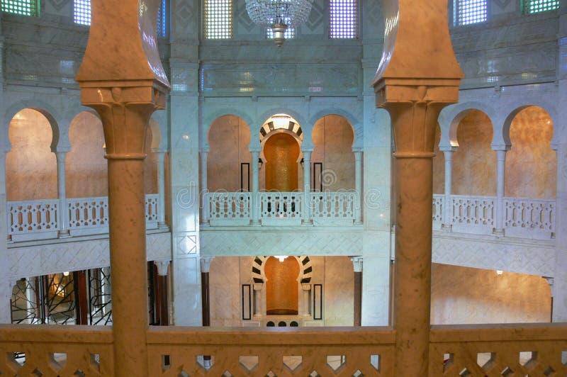 Mausoleum av Habib Bourgiba royaltyfria bilder