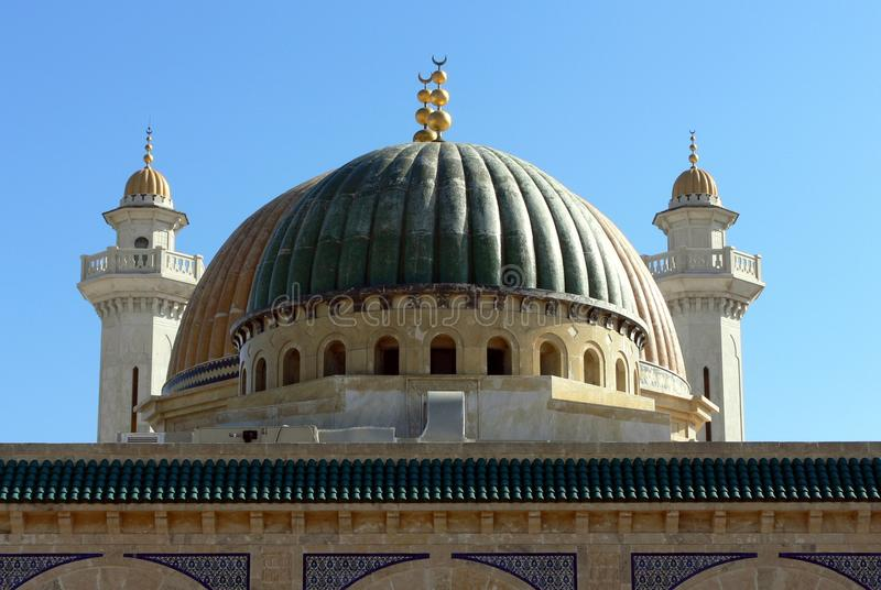 Mausoleum av Habib Bourgiba arkivfoton