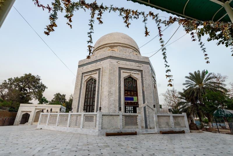 Mausoleum av Rahman Baba,Peshawar Pakistan arkivbild
