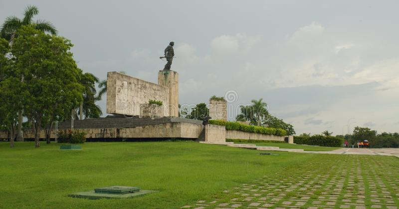 Mausoleum Che Guevara in Santa Clara stock foto's