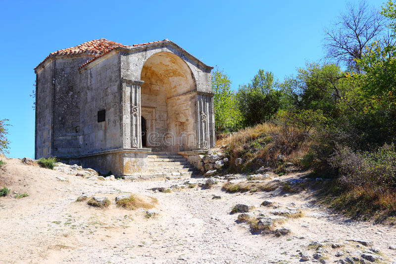 Mausoleum of Djanike-khanym royalty free stock photography