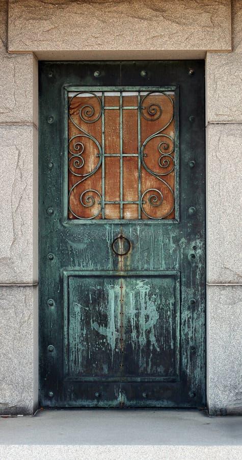Free Mausoleum Door Royalty Free Stock Image - 13464856