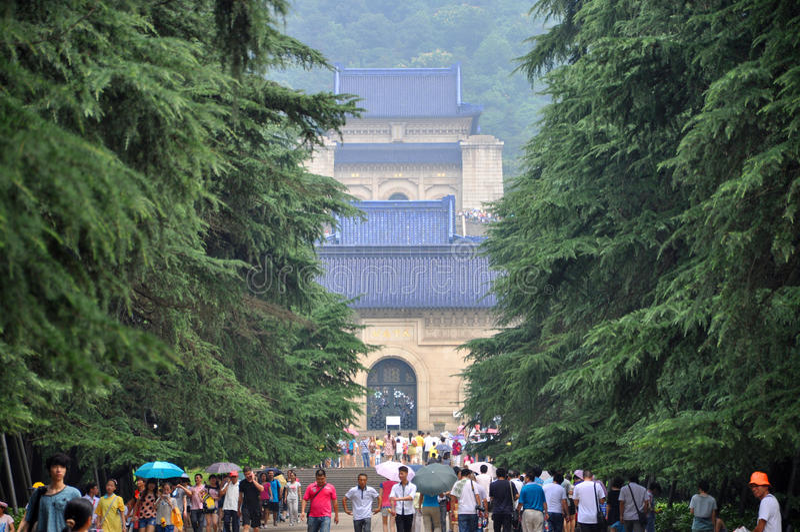 Mausoleum Of Dr. Sun Yat-sen Editorial Stock Photo