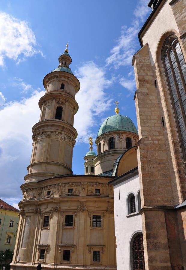 Mausoleum Graz, Austria. Colorful and crisp image of mausoleum Graz, Austria stock photo