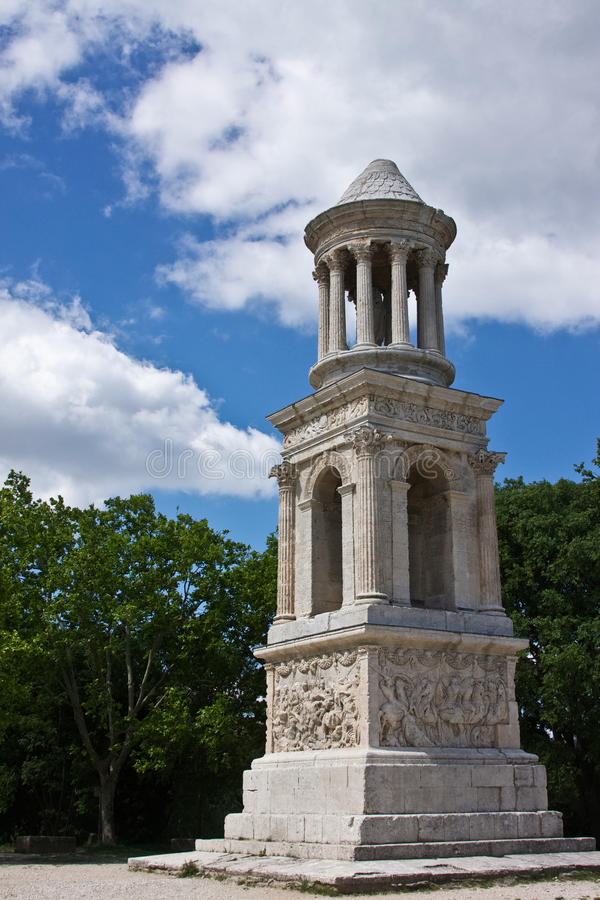 Mausoleum Of The Julii Royalty Free Stock Image