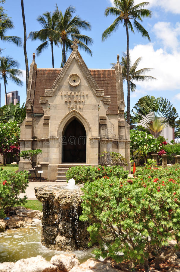 Mausoleum Of King Lunalilo Royalty Free Stock Images