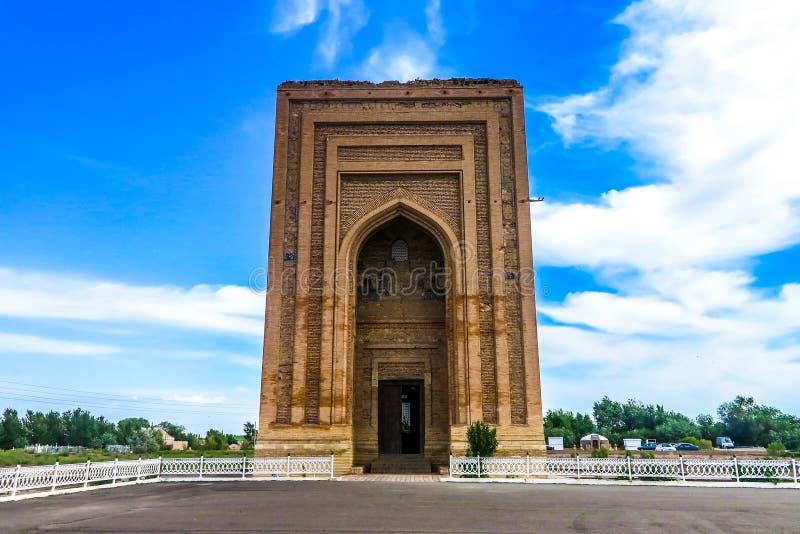 Mausoleum 02 Konye Urgench Turabek Khanum lizenzfreie stockfotos