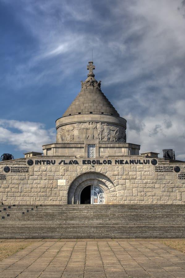 Mausoleum of Marasesti. Exterior of Mausoleum of Marasesti in Romania royalty free stock photography
