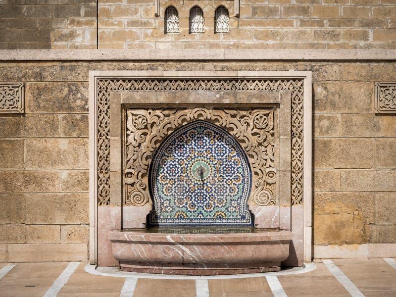 Mausoleum of Mohammed V historical building in Rabat, Morocco. The Mausoleum of Mohammed V historical building in Rabat, Morocco stock images