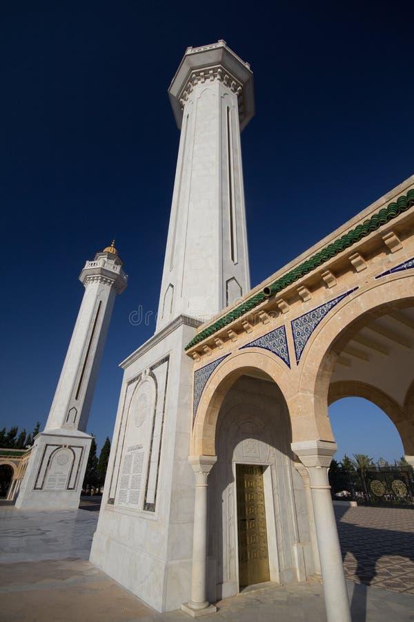 Mausoleum in Monastir, Tunesië stock fotografie
