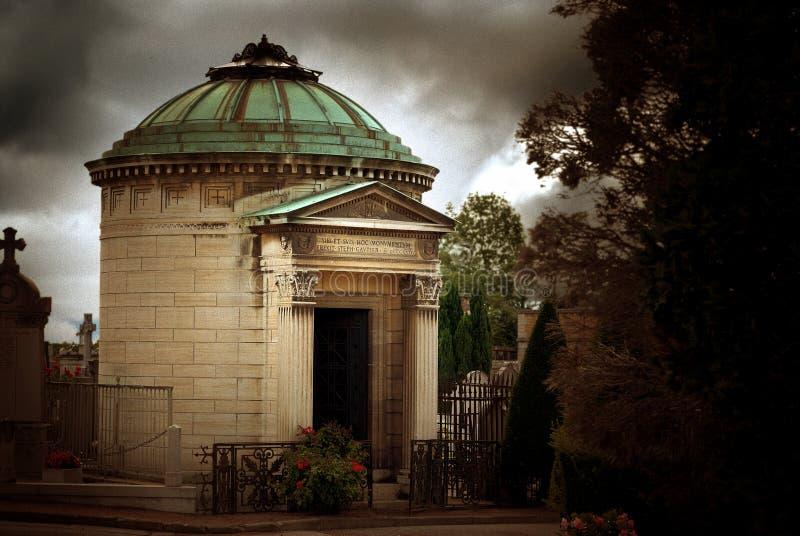 Mausoleum in Oud Kerkhof stock fotografie