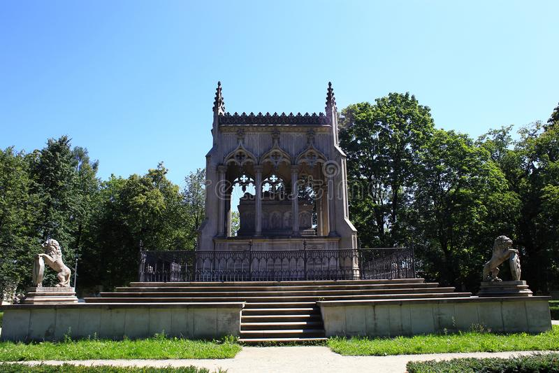 Mausoleum Potocki-Familie in Warschau, Polen stockfoto