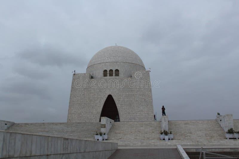 Mausoleum of quaid e azam royalty free stock images
