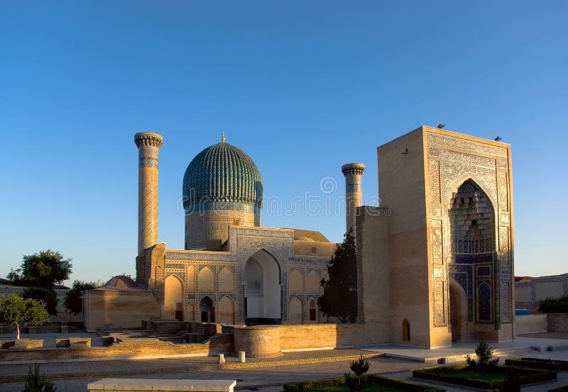 Mausoleum of Tamerlane (Timur) stock photo