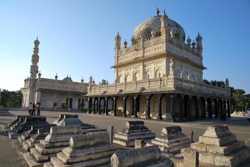 Mausoleum of Tipu sultan. The Mausoleum of Tipu sultan in India royalty free stock photography