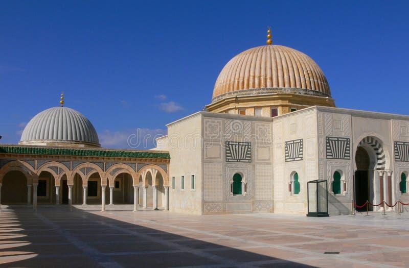 Mausoleum van Habib Bourgiba royalty-vrije stock afbeelding