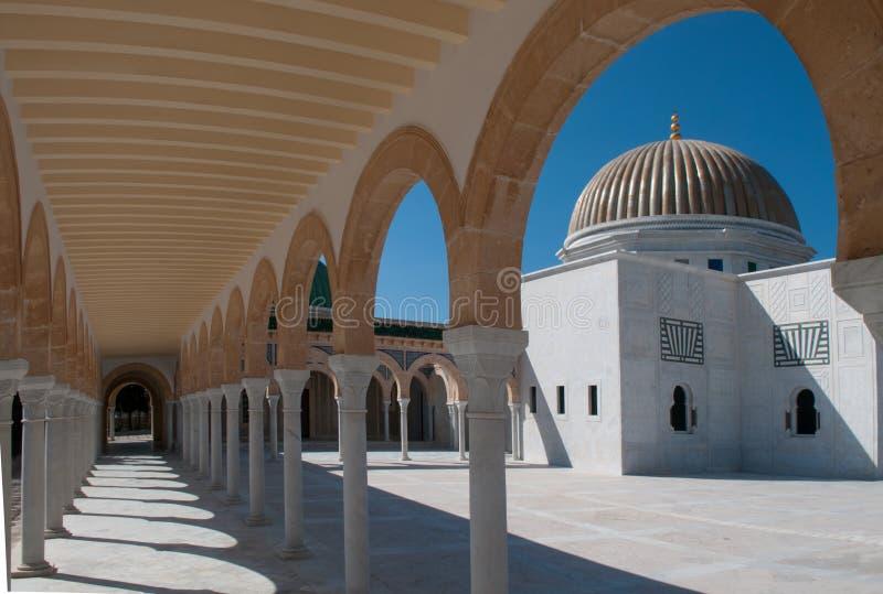 Mausoleum van Habib Bourguiba - Tunesië, Monastir stock afbeeldingen