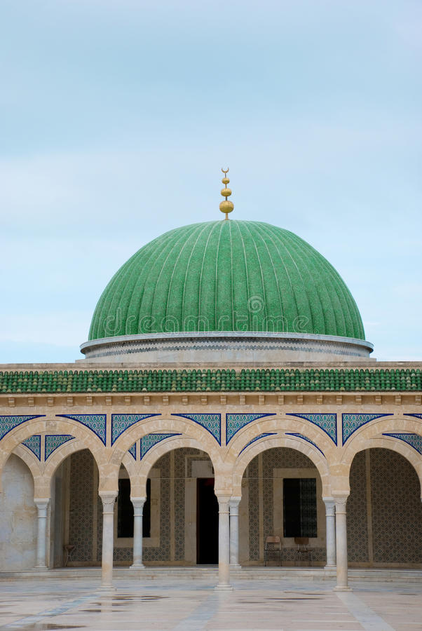 Mausoleum van Habib Burgiba, Monastir, Tunesië stock foto