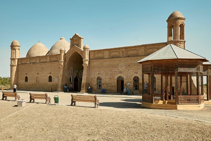 Mausoleum van Khoja Ahmed Yasawi, Turkestan, Kazachstan royalty-vrije stock afbeelding