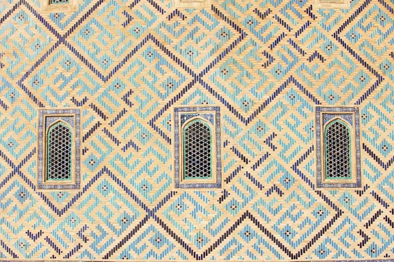 Mausoleum von Khoja Ahmed Yasavi in Turkistan, Kasachstan stockfotos