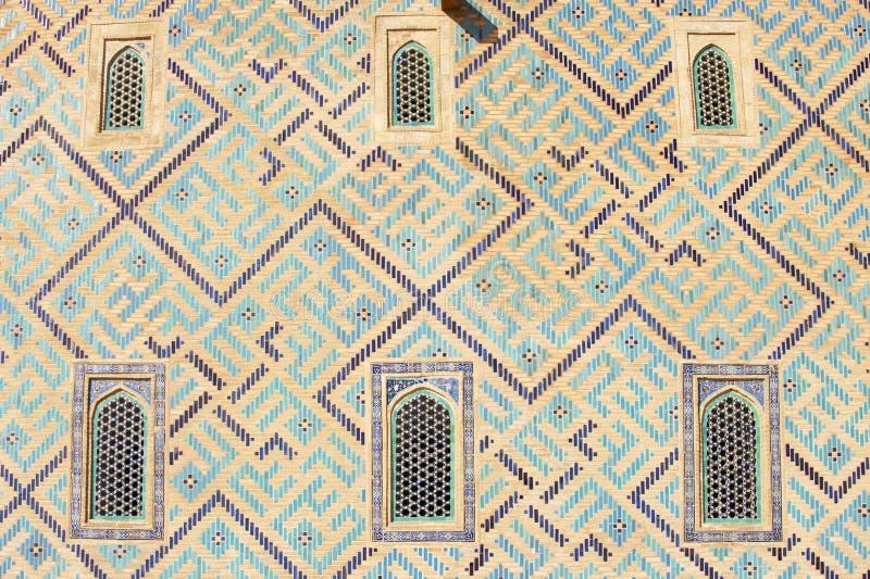 Mausoleum von Khoja Ahmed Yasavi in Turkistan, Kasachstan lizenzfreies stockbild