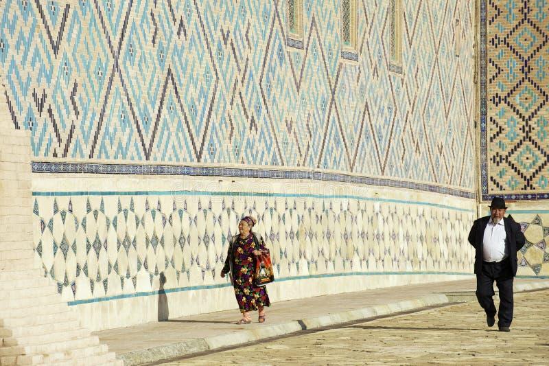 Mausoleum von Khoja Ahmed Yasavi in Turkistan, Kasachstan lizenzfreie stockfotos