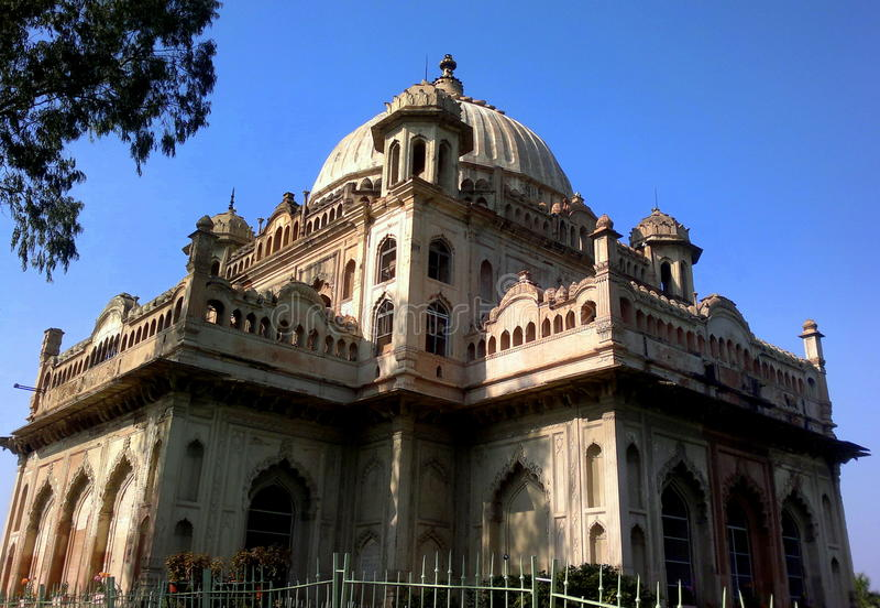 Mausoleum von Nawab lizenzfreies stockfoto
