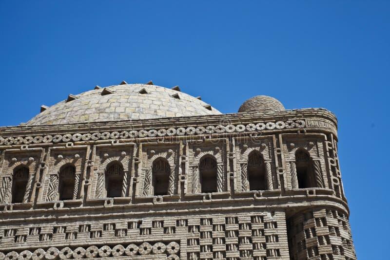 Mausoleummuster Ismail-Samani, Bukhara lizenzfreie stockfotografie