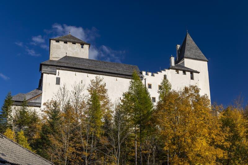 Mauterndorf castle, Tamsweg district, Province of Salzburg, Austria stock images