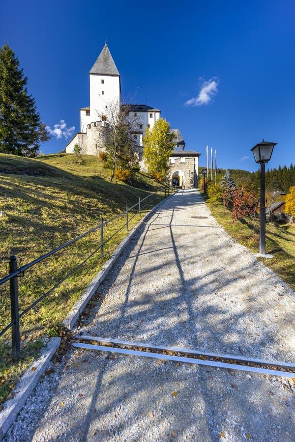Mauterndorf castle, Tamsweg district, Province of Salzburg, Austria royalty free stock image