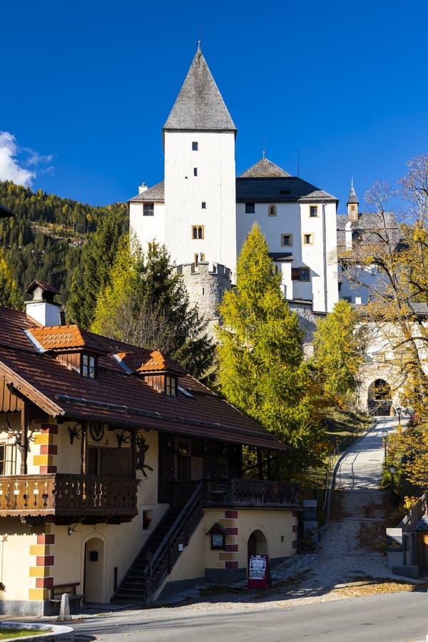 Mauterndorf castle, Tamsweg district, Province of Salzburg, Austria stock image