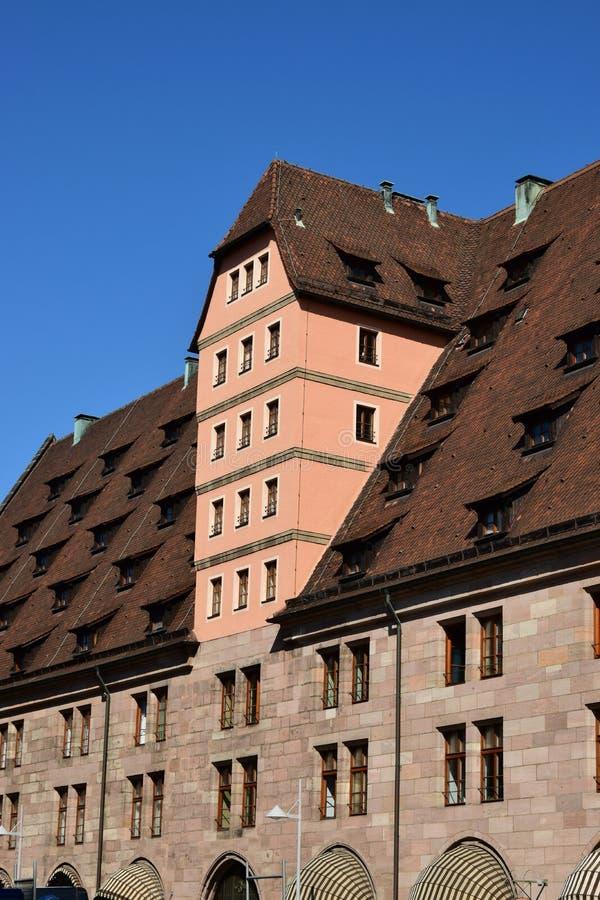 Mauthalle (ιστορικό τελωνειακό σπίτι) στη Νυρεμβέργη, Γερμανία στοκ φωτογραφία