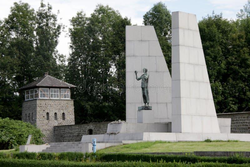 Mauthausengedenkteken - Oostenrijk royalty-vrije stock fotografie