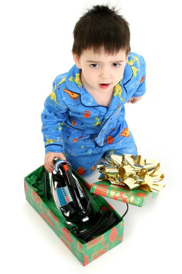 Mauvais cadeau de Noël photo libre de droits