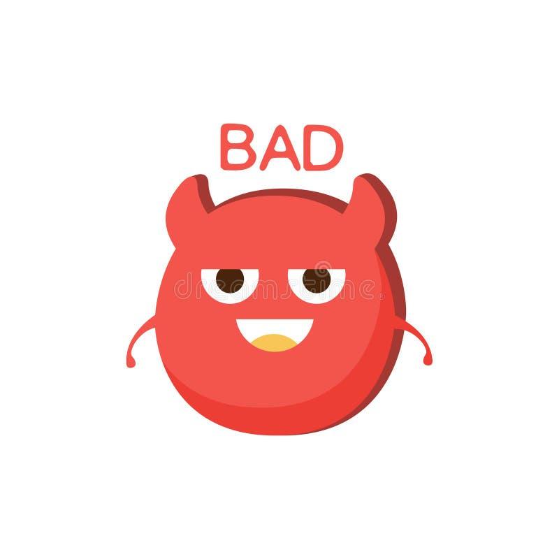 download mauvais diable rouge word et illustration correspondante personnage de dessin anim emoji avec des - Dessin Avec Emoji