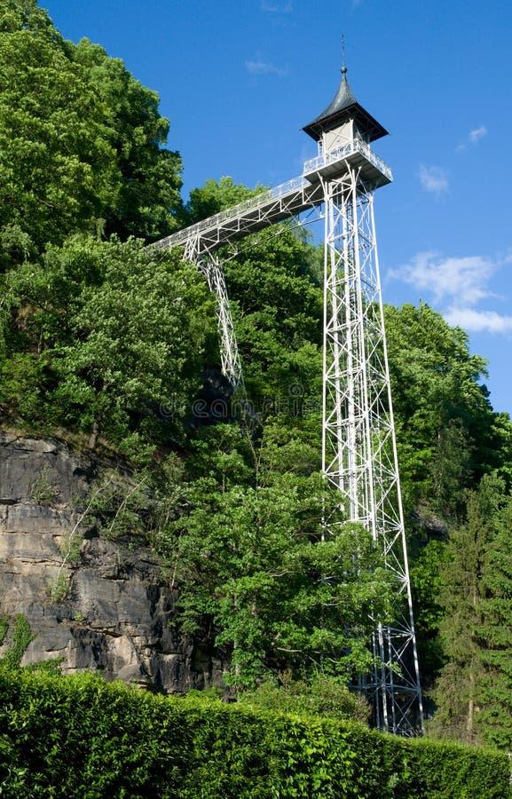 Mauvais Schandau, Saxon Suisse, Allemagne image libre de droits