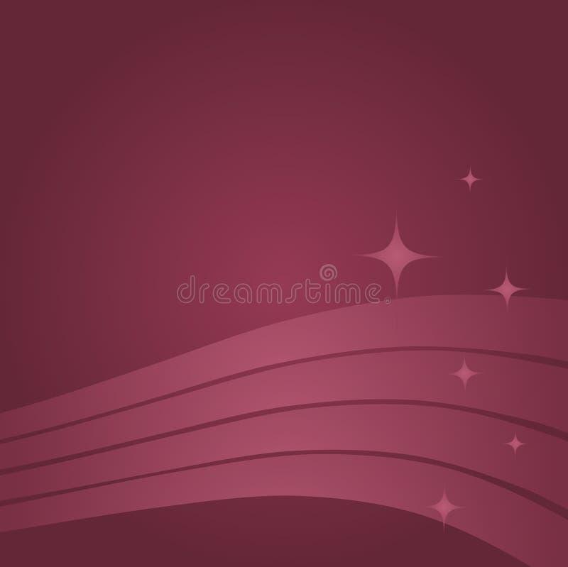 Mauve Decoratieve Achtergrond vector illustratie