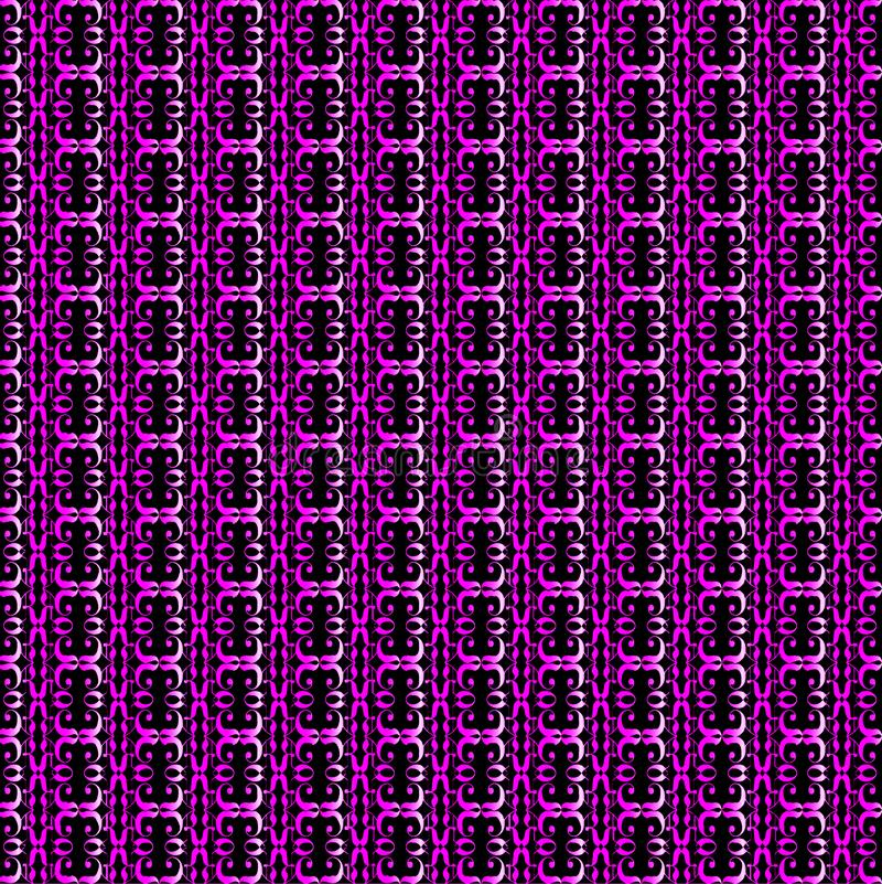 Mauve Pattern Background royalty free illustration