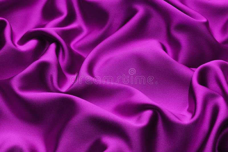 Mauve Silk. Soft ruffled mauve silk background royalty free stock photography