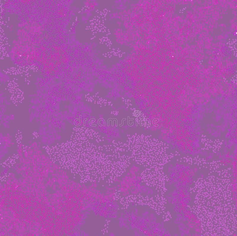 Mauve stippel Achtergrond vector illustratie