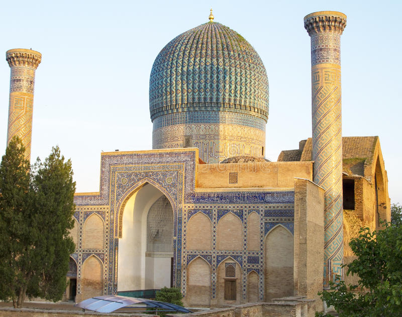 Mauzoleum emir Timur w Samarkand obraz royalty free