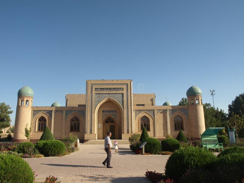 Mauzoleum Hakim al, Uzbekistan obraz stock